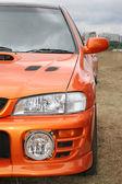 Orange car — Stock Photo