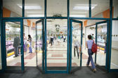 The entrance into the store — Stock Photo