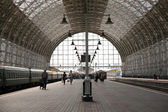 Kiev station in Moscow — Stock Photo