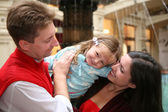 Happy family 2 — Stockfoto