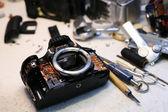Oprava kamery foto — Stock fotografie