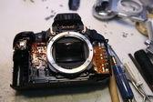 Camera tools repair — Stock Photo