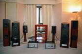 Hi-end audio system — Stock Photo