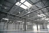 Hangar warehouse — Stock Photo