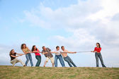 Tug-of-war 2 — Stock Photo