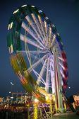 Ferry wheel at night — Stock Photo