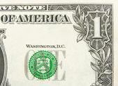 Eins -dollar — Stockfoto