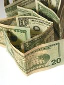 Close-up of dollars 3 — Stock Photo