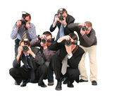 Paparazzi — Stock Photo
