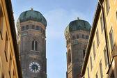 Catedral de nossa senhora em munique — Foto Stock