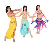 Bellydance woman group — Stock Photo