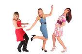 Dancing girls — Stock Photo