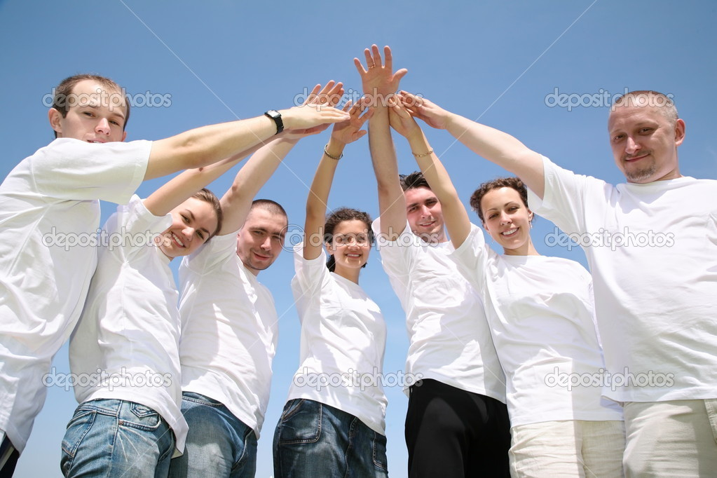 Hands unity — Stock Photo #7435478