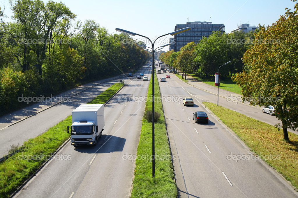 картинки дорог с машинами