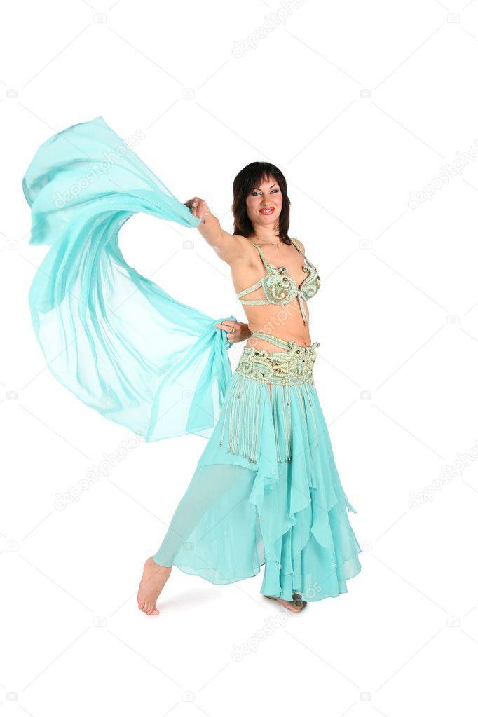 Rysk Kvinna Älskar Disco Dans