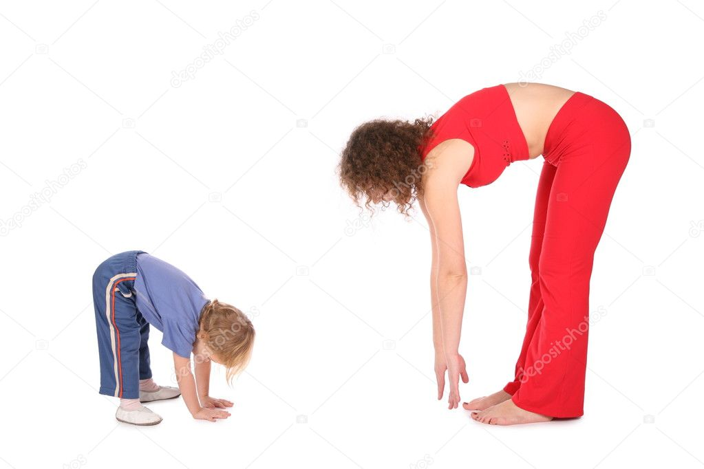 Family training — Stock Photo #7437523