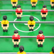 Toy tabletop football — Stock Photo