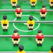 Toy tabletop football — Stock Photo #7440341