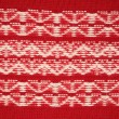 Stock Photo: Ornament red jersey texture