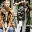 Mannequins in store — Stock Photo