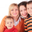Mother, GrandMother, daughter, son — Stock Photo #7441060