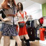 Women mannequin in store — Stock Photo #7441331