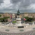 Vittorio Emanuele II. Monument in Rome — Stock Photo