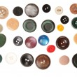 Miscellaneous buttons — Stock Photo