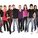 genç grup yirmi iki — Stok fotoğraf #7442125