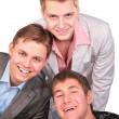 Three smiling friends — Stock Photo #7442225