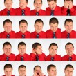 Stock Photo: Many faces