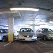 Panorama of car parking — Stock Photo