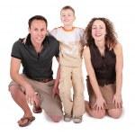 Happy family — Stock Photo #7443705