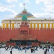 Mausoleum on Red Square — Stock Photo