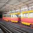 Stock Photo: Rapid tram in Volgograd
