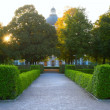 Path in park in Europe — Stock Photo