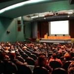 presentación en aditorium — Foto de Stock