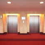 Elevator doors — Stock Photo
