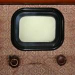 Old tv — Stock Photo
