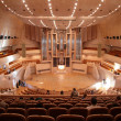 Stock Photo: Concert hall with organ