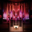 Organ concert — Stock Photo