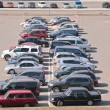 Automobiles on parking — Stockfoto