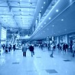 At airport — Stockfoto