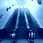 Metro station — Stock Photo
