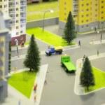 City miniature — Stock Photo