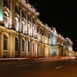 Stock Photo: Night street in St. Peterburg