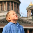 Stock Photo: Boy in St.Petersburg