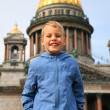 Boy in Sankt-Petersburg — Stock Photo #7447369