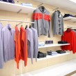 Stock Photo: Clothes in store