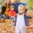 Family in park — Stock Photo #7447693